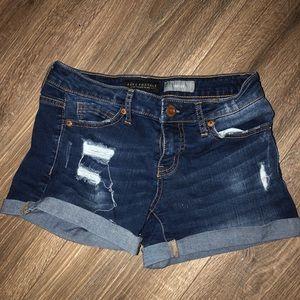 juniors denim shorts